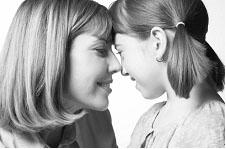 母と娘の写真